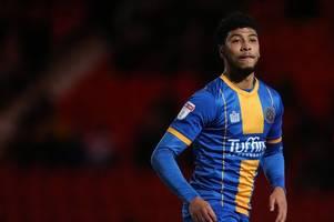 stoke city 'tracking' highly-rated shrewsbury town midfielder