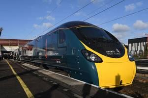 avanti west coast set for £642million train refurbishment with 100 jobs created