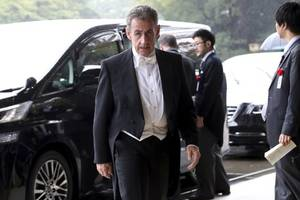 former french president nicolas sarkozy to stand trial in october on graft charges