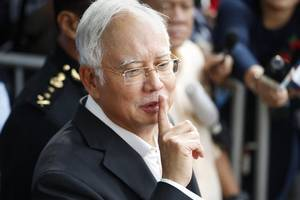 malaysia anti-graft body says audio clips show najib tried to cover-up 1mdb scandal