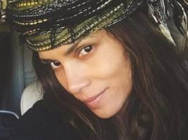 Halle Berry Goes For Woman Crush Everyday Consideration Wearing Nothing In Earthy Nature Pic