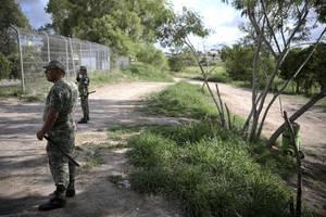denied u.s. entry, mexican cuts own throat on bridge over rio grande