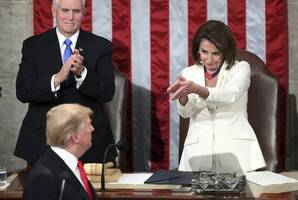 trump declares win against iran, but pelosi looks to limit his military power