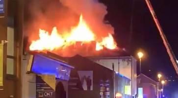 devastating blaze at derry nightclub was arson, say police