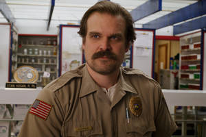 'stranger things' star david harbour on why he's no longer sure hopper is 'the american'