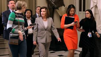 pelosi says house will vote on impeachment trial managers next week