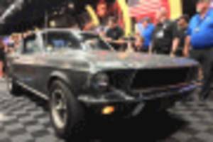 Original 1968 Ford Mustang GT 390 from Bullitt commands $3.4M at auction