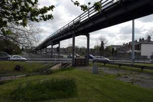 when and how chelmsford's army and navy flyover will be torn down