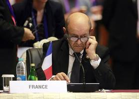 french fm warns iran could have nuclear weapon within 1 to 2 years