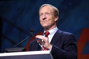 steyer wants climate change refugees to enter us legally
