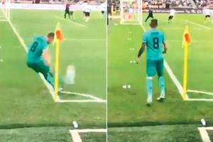 spanish super cup: toni kroos wonder goal from corner helps real madrid beat valencia