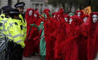 extinction rebellion listed as 'extremist' by anti-terror police