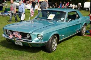 ford mustang driven by steve mcqueen in 'bullitt' sells for $3.4 million