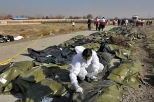 iran admits ukrainian plane was shot down 'due to human error'