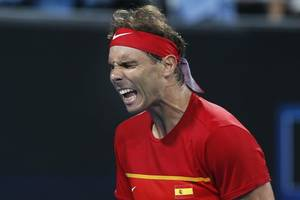 tennis: nadal leads spain into atp cup final vs djokovic's serbia