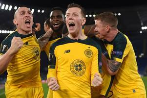 celtic europa league success put in context as lazio go on record-breaking run