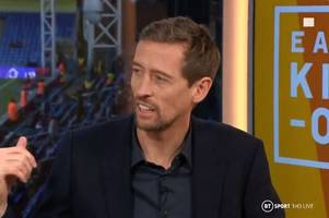 peter crouch issues nicolas pepe verdict and makes raheem sterling comparison to arsenal star