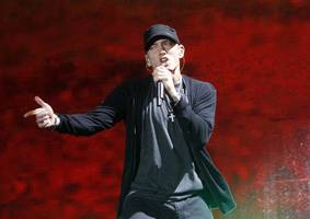 eminem has been busy recording lots of new music, says producer s1