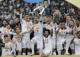 real madrid vs atletico: zinedine zidane's men lift spanish super cup after winning on penalties