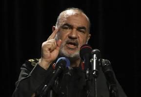 top guards commander briefs iran parliament: report