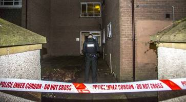 four people rescued after arson attack at east belfast flats