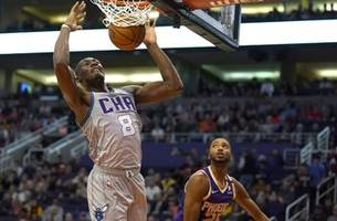 oubre steps up as booker struggles, suns beat hornets 100-92