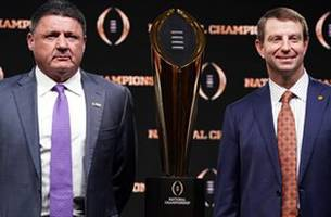 Skip and Shannon make their picks for the National Championship between LSU and Clemson