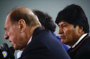 bolivia exiled ex-president morales calls on radio for armed militias
