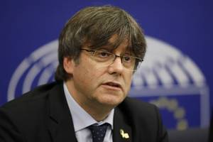 fugitive catalan leader carles puigdemont becomes eu legislator