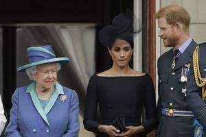 uk queen to meet prince harry, meghan