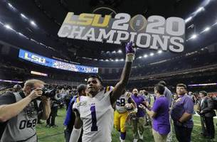 Let the celebrations begin: LSU champs party ahead of parade