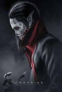 morbius - cast: jared leto, adria arjona, matt smith, jared harris, al madrigal, tyrese gibson, michael keaton