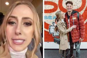 patrick mahomes' girlfriend trolls haters with wild celebrations after chiefs win