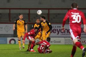 Match report as Port Vale are found wanting in 2-1 defeat at Morecambe
