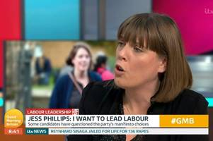 jess phillips demands action on anti-semitism after labour member 'abused'