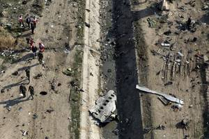 Iran vows to punish those responsible for downing Ukrainian plane