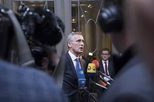 nato chief lauds anti-terror partnership with jordan