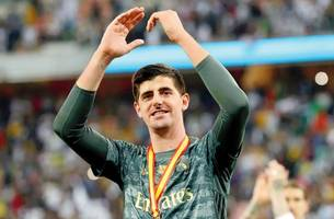 spanish super cup: thibaut courtois helps real madrid beat rivals atletico in penalty-shootout