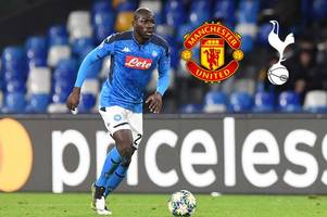 Kalidou Koulibaly transfer latest: Man United £60m deal in summer, Barcelona and Spurs interest
