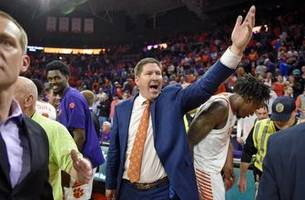 Clemson upsets No. 3 Duke 79-72 to earn rare ACC double
