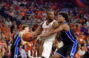 Clemson gets rare ACC double in 79-72 win over No. 3 Duke