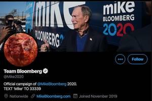 michael bloomberg's campaign twitter account trolls democratic debate