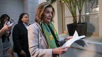 pelosi says she's ready to send articles of impeachment to the senate