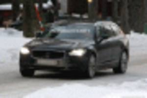 2021 Volvo V90 spy shots