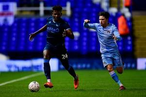 aston villa midfielder left with '35 stud marks' after rough bristol rovers treatment for coventry city
