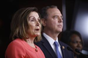 nancy pelosi names adam schiff and jerry nadler as donald trump impeachment 'prosecutors'