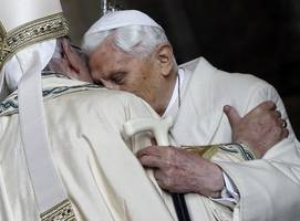 two popes — one retired, one reigning — cause a furor