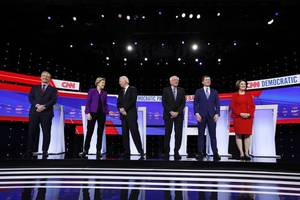 5 key takeaways from the democratic presidential debate in iowa