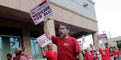 'i owe the american people an apology': a former healthcare executive says he's sorry for devising the biggest argument against medicare for all