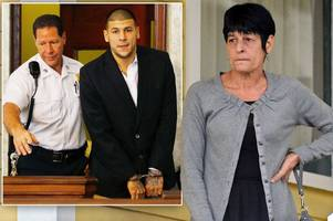 aaron hernandez told his mum you f***** me up in chilling phone calls from jail